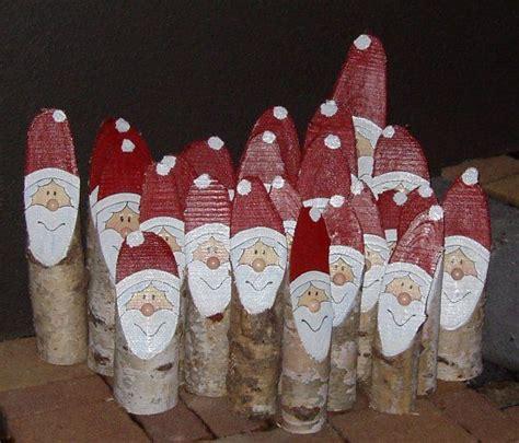Weihnachtsmann Aus Baumstamm by Die Besten 17 Ideen Zu Birkenholz Auf Aspen
