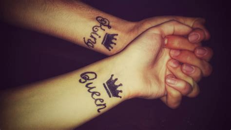 25 incredible king and queen wrist tattoos 187 tattoo ideas