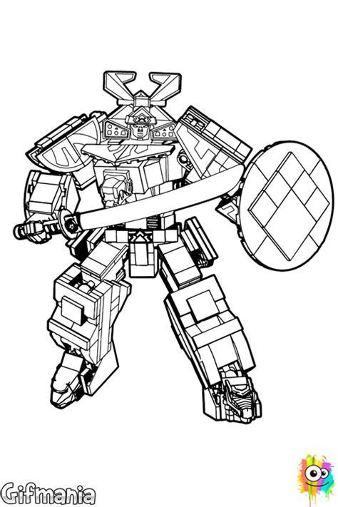 power rangers samurai zords coloring pages megazord samurai coloring page
