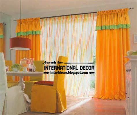 Orange Kitchen Curtains Designs Largest Catalog Of Kitchen Curtains Designs Ideas 2016
