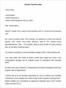 cover letter for transfer sle letter of intent for transfer to other