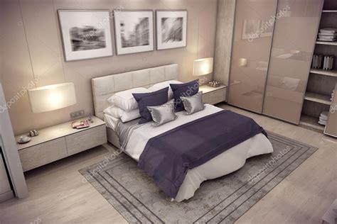 immagini da letto casa da letto di rendering 3d in montagna foto