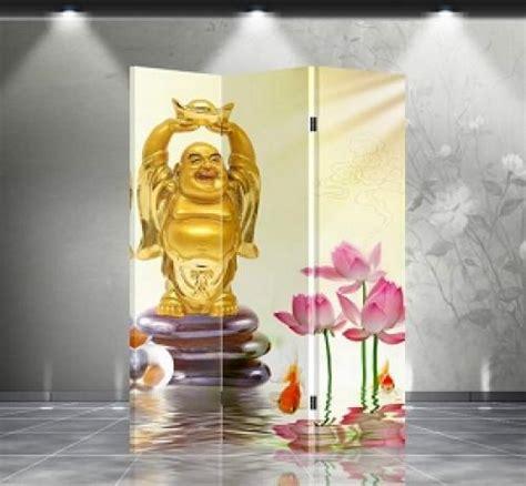 buddha room divider screen folding room dividers sided happy buddha divider