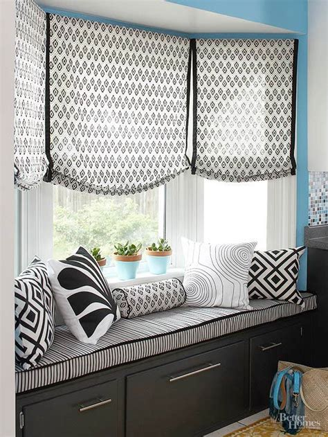 curtains for bay windows with window seat 25 best ideas about window seat curtains on pinterest
