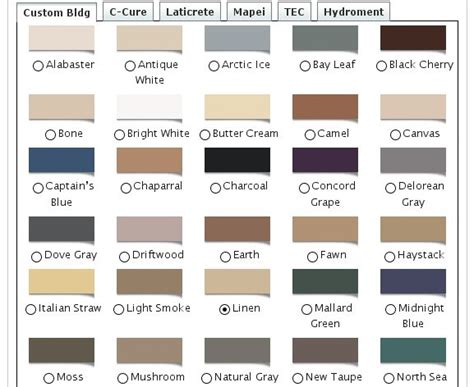 colored caulking 28 images hydroment related keywords grout color chart 28 images image gallery tec grout