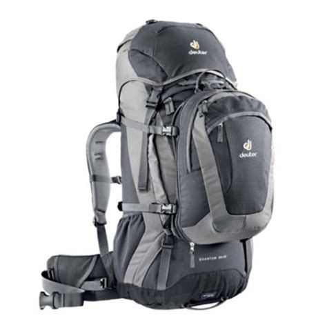 front opening backpack deuter quantum 55 10 rucksack with daypack front opening