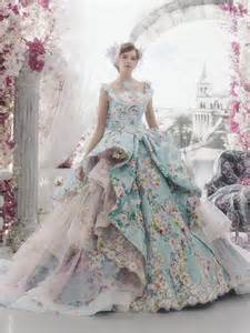 colorful wedding dress maysociety 32 colorful wedding dresses by stella de