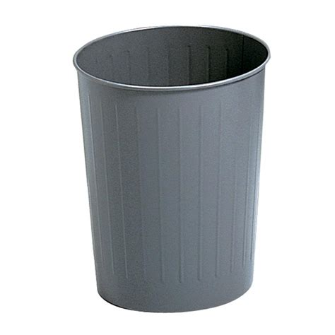 Office Garbage Cans Safco Steel Trash Cans Waste Bins For Office Or