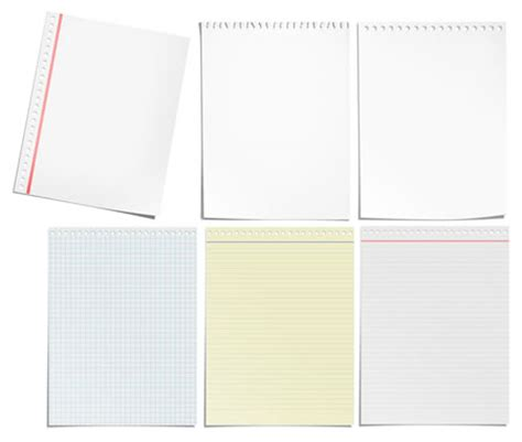 photoshop template notebook 6 paper notes psd images post it note template paper