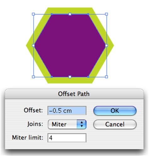 illustrator tutorial offset path graphics article tutorial creating offset path in
