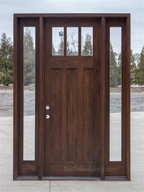 Exterior Doors Wholesale 8 Doors Craftsman Entry Doors In 8 U0027 Cl 2121d