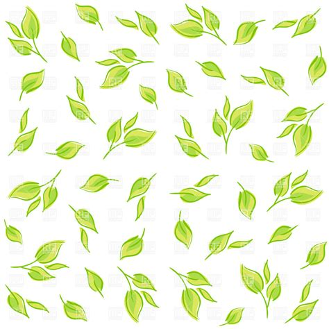 free pattern clipart simplistic pattern made of green cartoon leafs royalty