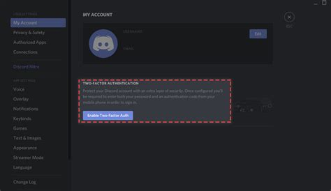 fredboat down setting up two factor authentication discord