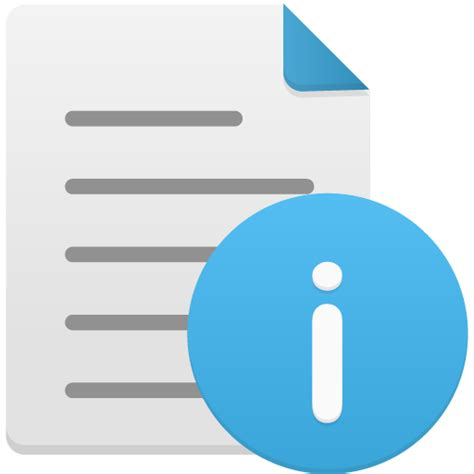 design icon file file info icon flatastic 10 iconset custom icon design