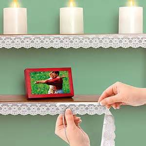 self adhesive cabinet edging paper lace shelf edging home is where the