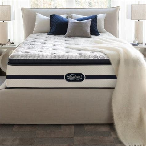 Beautyrest Recharge Pillow Top Reviews by Beautyrest Recharge Battle Creek Plush Pillow Top Mattress