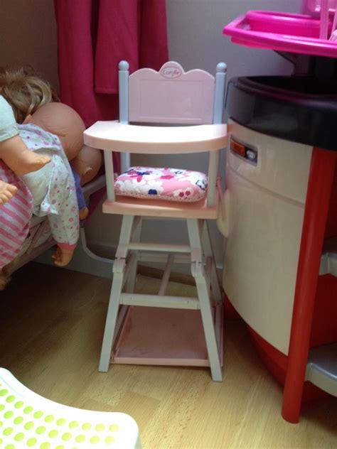 chaise haute corolle chaise haute pour poupon corolle corolle avis