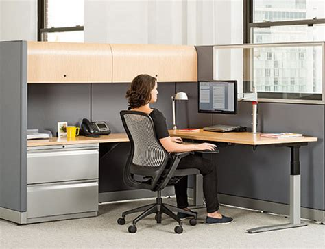 desk with adjustable height universal height adjustable tables knoll