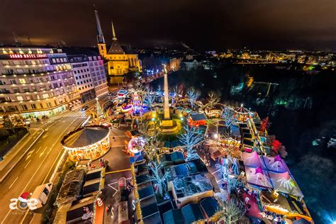 winter lights luxembourg  vimeo