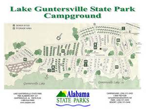 Alabama State Parks Map by Lake Guntersville State Park Maplets