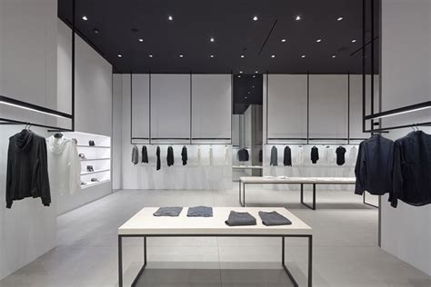 Theory Expanding In So Cal Opens New Store On Avenue nendo emphasizes circulation in la shops for theory