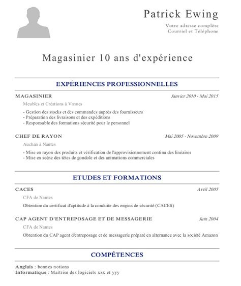 Exemple Lettre De Motivation Employé Libre Service Modele Cv Gratuit Employe Libre Service Document