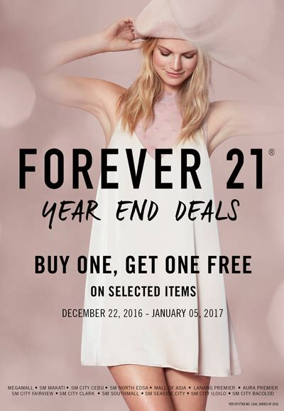 Sale Alert Bevmos Buy One Get One For 5 Sale by Forever 21 Year End Deals Spot Ph