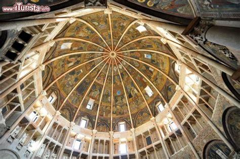 battistero di parma interno la grande cupola battistero di parma riccamente