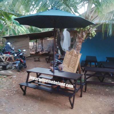 desain meja payung mebel jepara jati indoor outdoor furniture minimalis