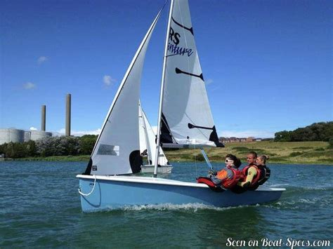 sailing boat dimensions rs venture sport rs sailing sailboat specifications and
