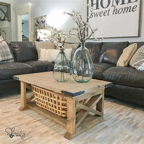 diy farmhouse coffee table shanty 2 chic taable note