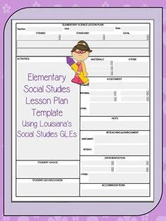 kindergarten ccss lesson plan template template the o