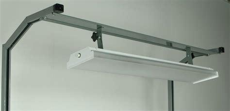 work bench lighting stackbin workbenches tiltable 48 quot fluorescent light