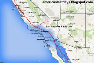 california earthquake map americas last days paul jackson california earthquake
