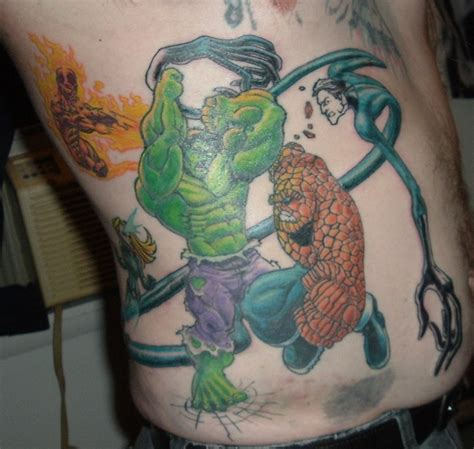 comic book tattoo comic book tattoos gallery