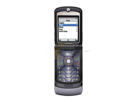 Hp Motorola Razr V3i motorola razr v3i gray unlocked cell phone with no