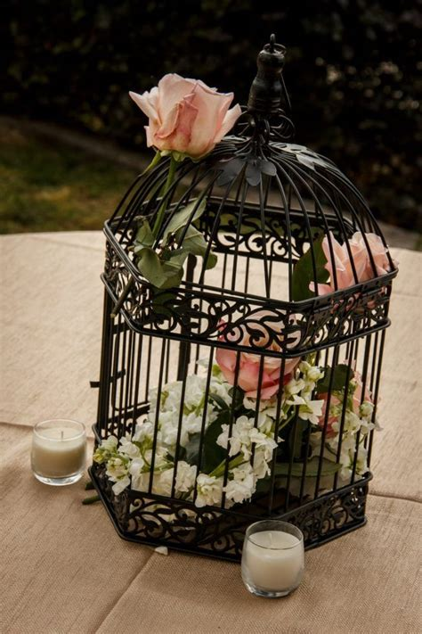 beautiful birdcage centerpiece table decor pinterest