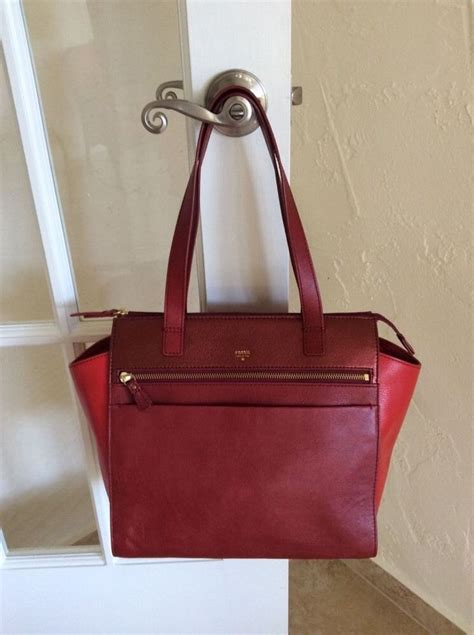 Tas Fossil Shopper Multired 1000 images about fossil on bags retail and fossil handbags
