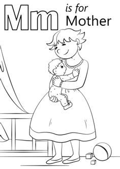 My A to Z Coloring Book Letter M coloring page | Pre-K