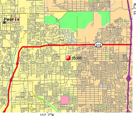 zip code map glendale az glendale az map my blog