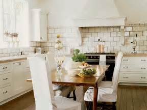 Eat In Kitchen Furniture by Kitchens Without Islands