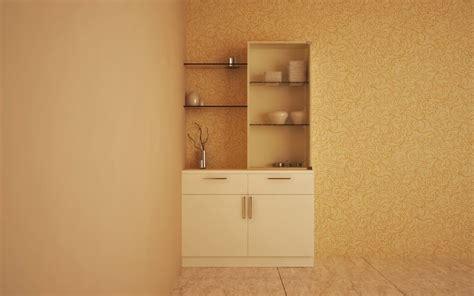 Living Room Crockery Unit Buy Pelican Simplistic Crockery Unit Homelane India