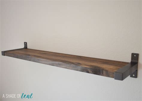 Ekby Shelf Brackets by Rustic Diy Bookshelf With Ekby Brackets