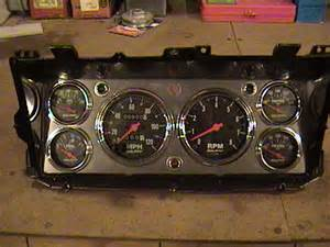 how to wire up the stock gauge cluster ford truck