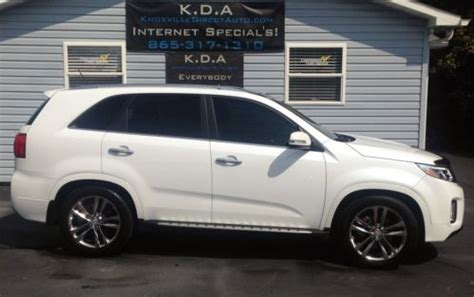 2014 Kia Sorento Third Row Buy Used 2014 Kia Sorento Sxl Limited Navigation 3rd