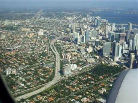 imagenes de miami florida aterrizando en la ciudad de miami youtube