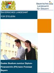 Bewerbung Um Ein Duales Studium Zum Diplom Finanzwirt Bayerisches Landesamt F 252 R Steuern Und Karriere Wir