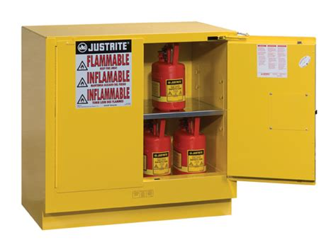 undercounter flammable storage cabinet sure grip 174 ex undercounter flammable safety cabinet cap