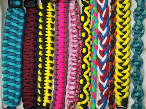 paracord weave styles different types of paracord bracelets best bracelet 2018