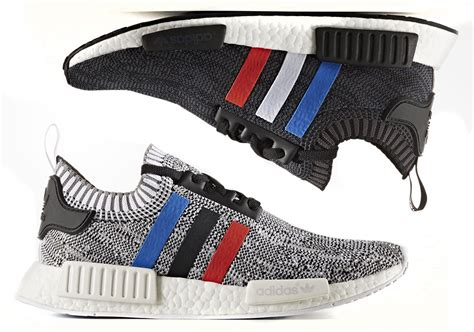 Sneakers Adidas Nmd Tricolor Premium Quality adidas nmd r1 primeknit tri color december 2016 sneakernews